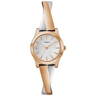 Timex Fashion Ladies' Two-Tone Bracelet Watch - Product number 2892367