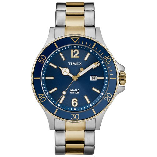 Timex Harborside Men's Two-Tone Bracelet Watch - Product number 2892456