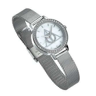 Harry Potter Deathly Hallows Stainless Steel Bracelet Watch - Product number 2892928