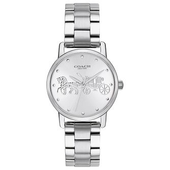Coach Grand Ladies' Stainless Steel Bracelet Watch - Product number 2897067