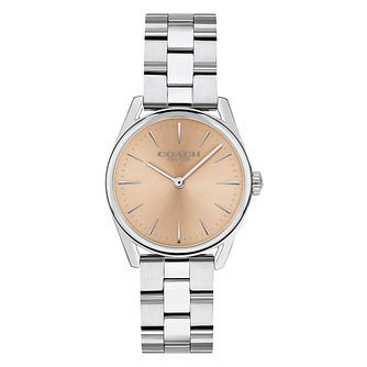 Coach Modern Luxury Ladies' Stainless Steel Bracelet Watch - Product number 2897423