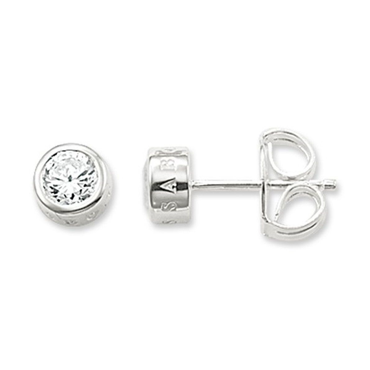 Thomas Sabo Silver Cubic Zirconia Stud Earrings - Product number 2898985