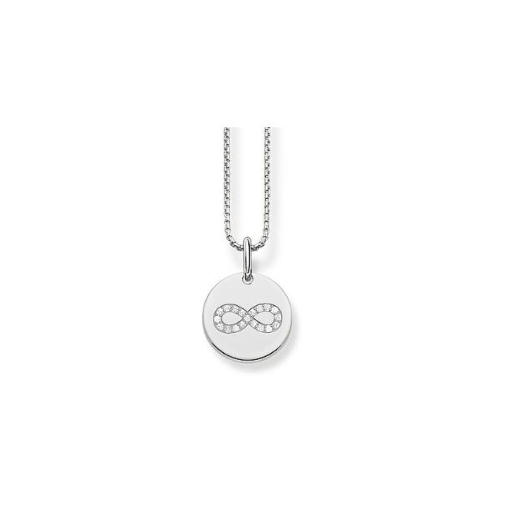 Thomas Sabo Silver Cubic Zirconia Infinity Pendant - Product number 2899027