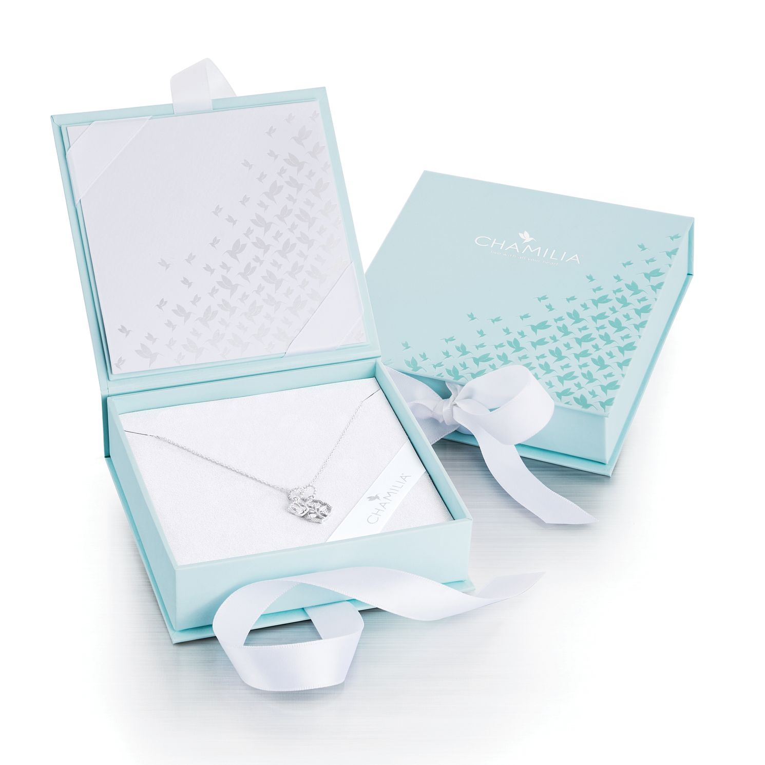 Chamilia Sparkling Leaf Mother's Day Duo Gift Set - Product number 2899132