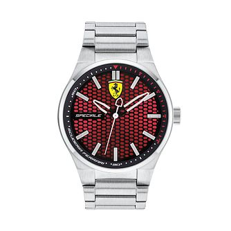 Ferrari Scuderia Speciale Stainless Steel Bracelet Watch - Product number 2899477