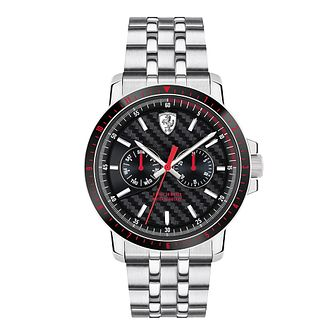 Ferrari Scuderia Turbo Men's Stainless Steel Bracelet Watch - Product number 2899566