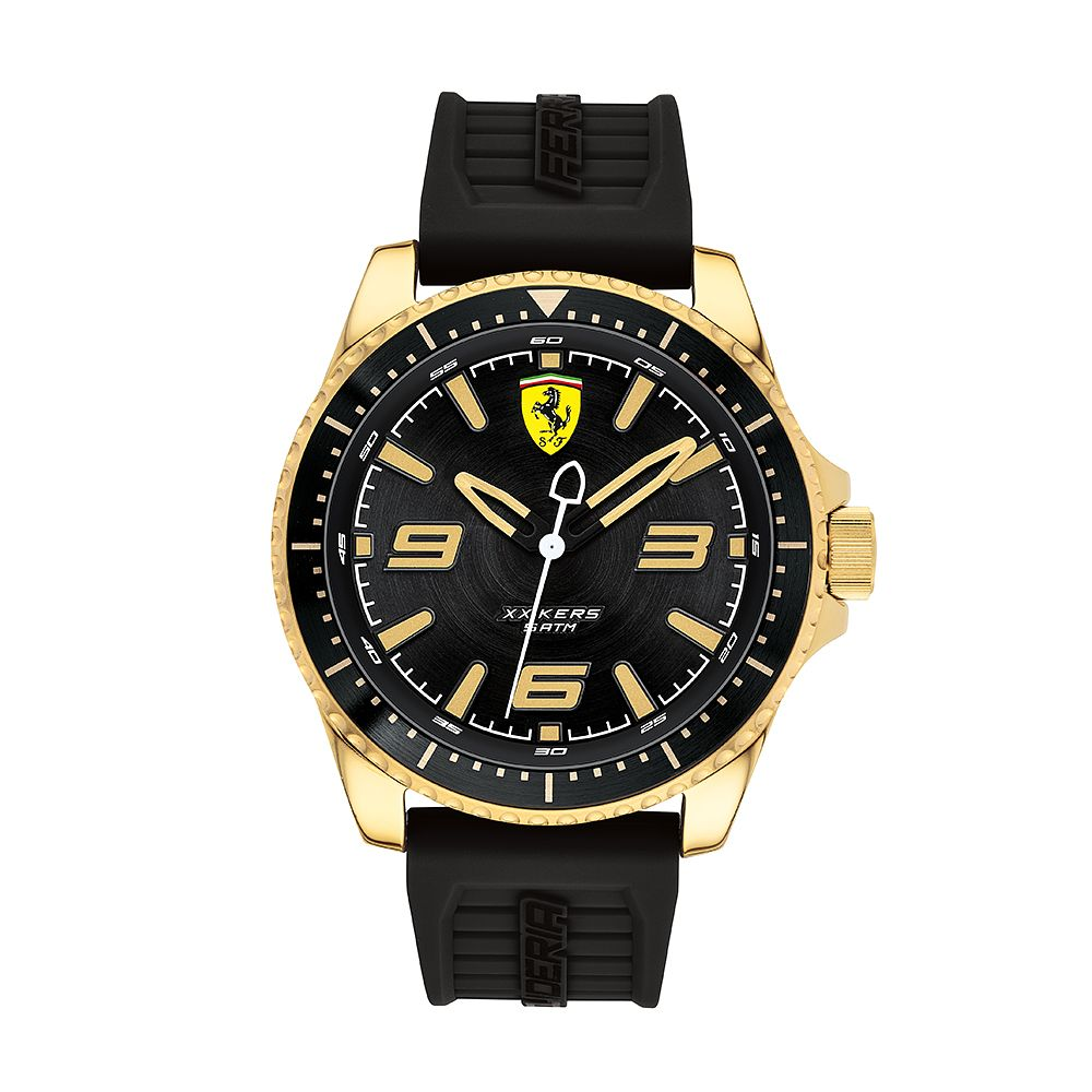 Ferrari Scuderia XX Kers Men's Black Silicone Strap Watch - Product number 2899647