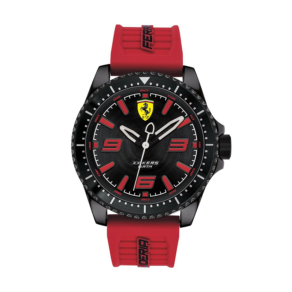 Ferrari Scuderia XX Kers Men's Red Silicone Strap Watch - Product number 2899655