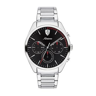 Ferrari Scuderia Abetone Stainless Steel Bracelet Watch - Product number 2899760