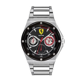 Ferrari Scuderia Aspire Men's Stainless Steel Bracelet Watch - Product number 2899892
