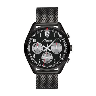 Ferrari Scuderia Abetone Black Gold Plated Bracelet Watch - Product number 2900092
