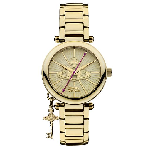 Vivienne Westwood Kensington ladies' gold-plated watch - Product number 2902265