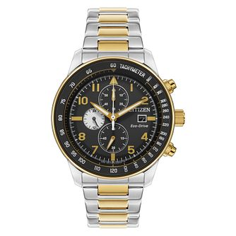Citizen Eco-Drive Men's Two-Tone Bracelet Watch - Product number 2908476