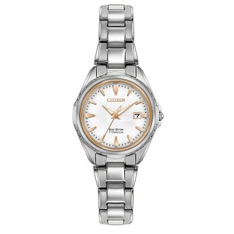 Citizen Eco-Drive Ladies' Titanium Bracelet Watch - Product number 2908514