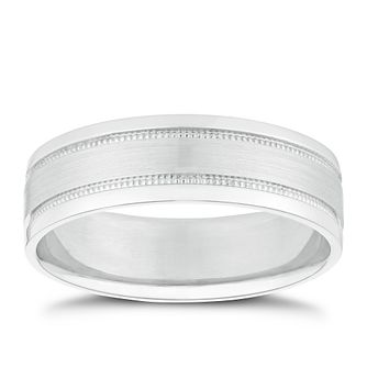 Palladium Milgrain Ring - Product number 2913585