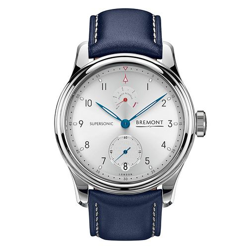 Bremont Limited Edition Supersonic Men's Blue Strap Watch - Product number 2918064