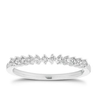 Platinum 0.15ct Diamond Scatter Ring - Product number 2919001