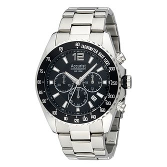 Accurist Men's Stainless Steel Chronograph Watch - Product number 2920220