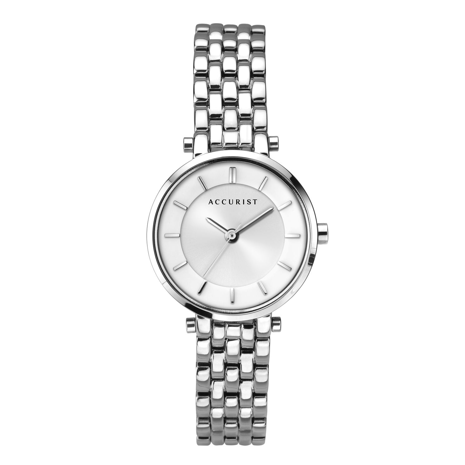 Accurist Ladies' Stainless Steel Bracelet Watch - Product number 2921790