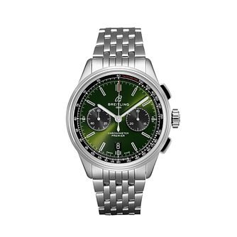 Breitling Premier B01 Bentley Green Bracelet Watch - Product number 2923351