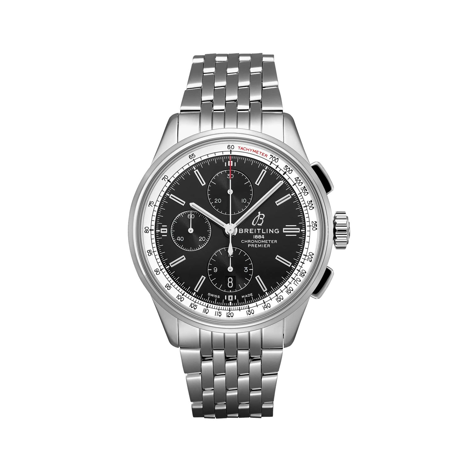 Breitling Premier Chronograph Stainless Steel Bracelet Watch - Product number 2923432