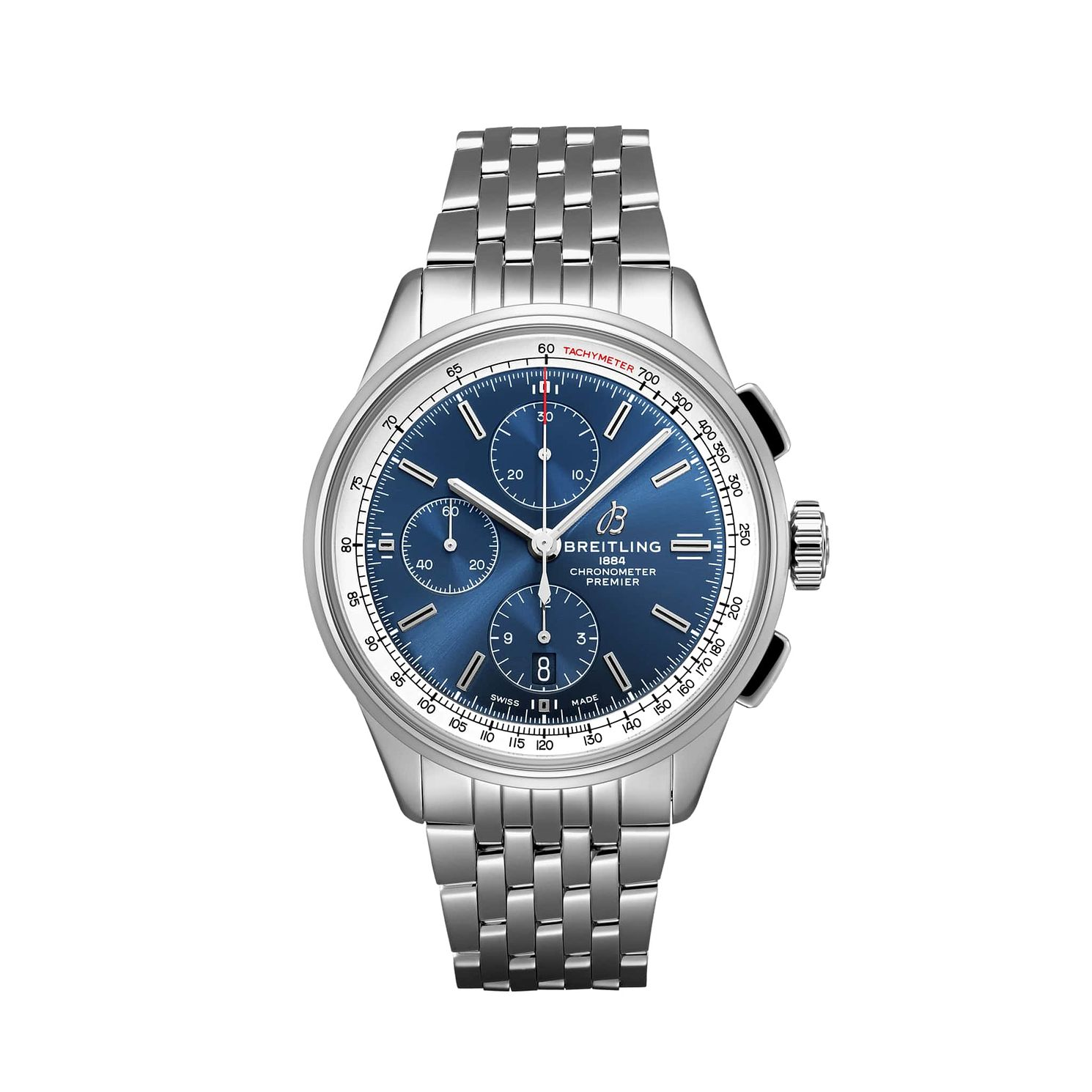 Breitling Premier Chronograph Stainless Steel Bracelet Watch - Product number 2923467