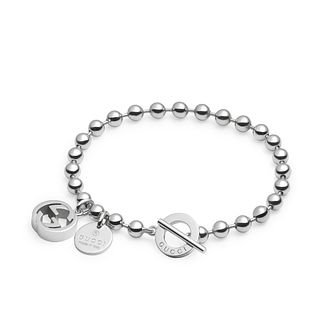 Gucci Boule sterling silver GG bracelet - Product number 2926687