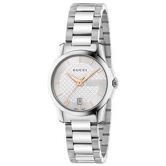 d7cb4316c4f Gucci G-Timeless stainless steel bracelet watch - Product number 2926865