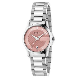 Gucci G-Timeless stainless steel bracelet watch - Product number 2926873