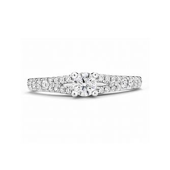 Tolkowsky 18ct White Gold 1/2ct Diamond Ring - Product number 2937336