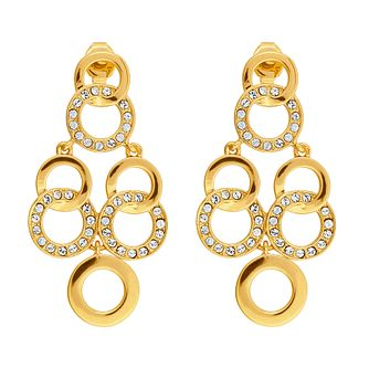 Adore Signature Interlocking Ring Chandelier Drop Earrings - Product number 2939541