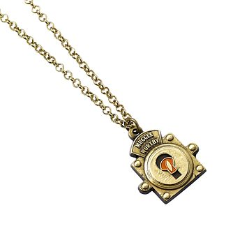 Harry Potter Fantastic Beasts Muggle Worthy Lock Necklace - Product number 2940167