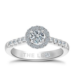 Leo Diamond 18ct white gold 3/4ct round cut diamond ring - Product number 2941260