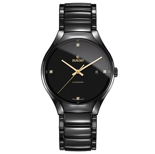 Rado True men's black ceramic bracelet watch - Product number 2941996