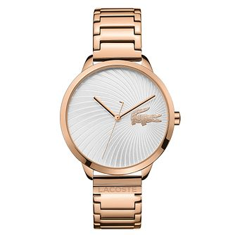 Lacoste Lexi Ladies' Rose Gold Plated Bracelet Watch - Product number 2942151