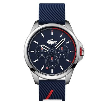 Lacoste Capbreton Men's Blue Silicone Strap Watch - Product number 2942259