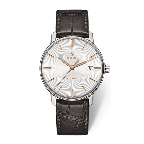 Rado Coupole Classic Men's Brown Leather Strap Watch - Product number 2943948