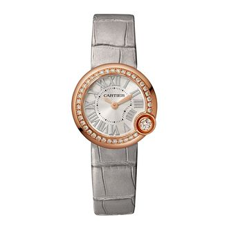Cartier Ballon Blanc De Cartier Ladies' Grey Strap Watch - Product number 2944618