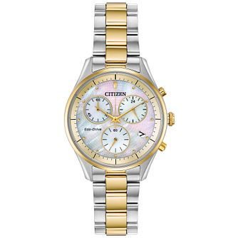 Citizen Silhouette Ladies' Two Tone Bracelet Watch - Product number 2948265