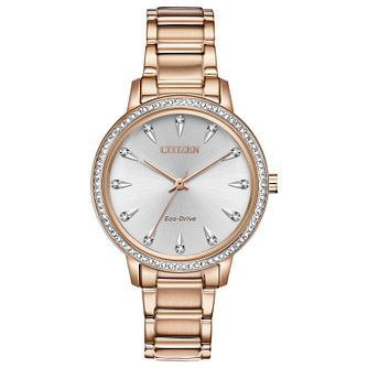 Citizen Silhouette Ladies' Gold Plated Bracelet Watch - Product number 2948281