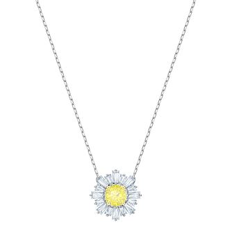 Swarovski Ladies' Rhodium Plated Sunshine Pendant - Product number 2949202