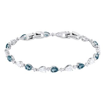 Swarovski Vintage Rhodium Plated White Crystal Bracelet - Product number 2949571