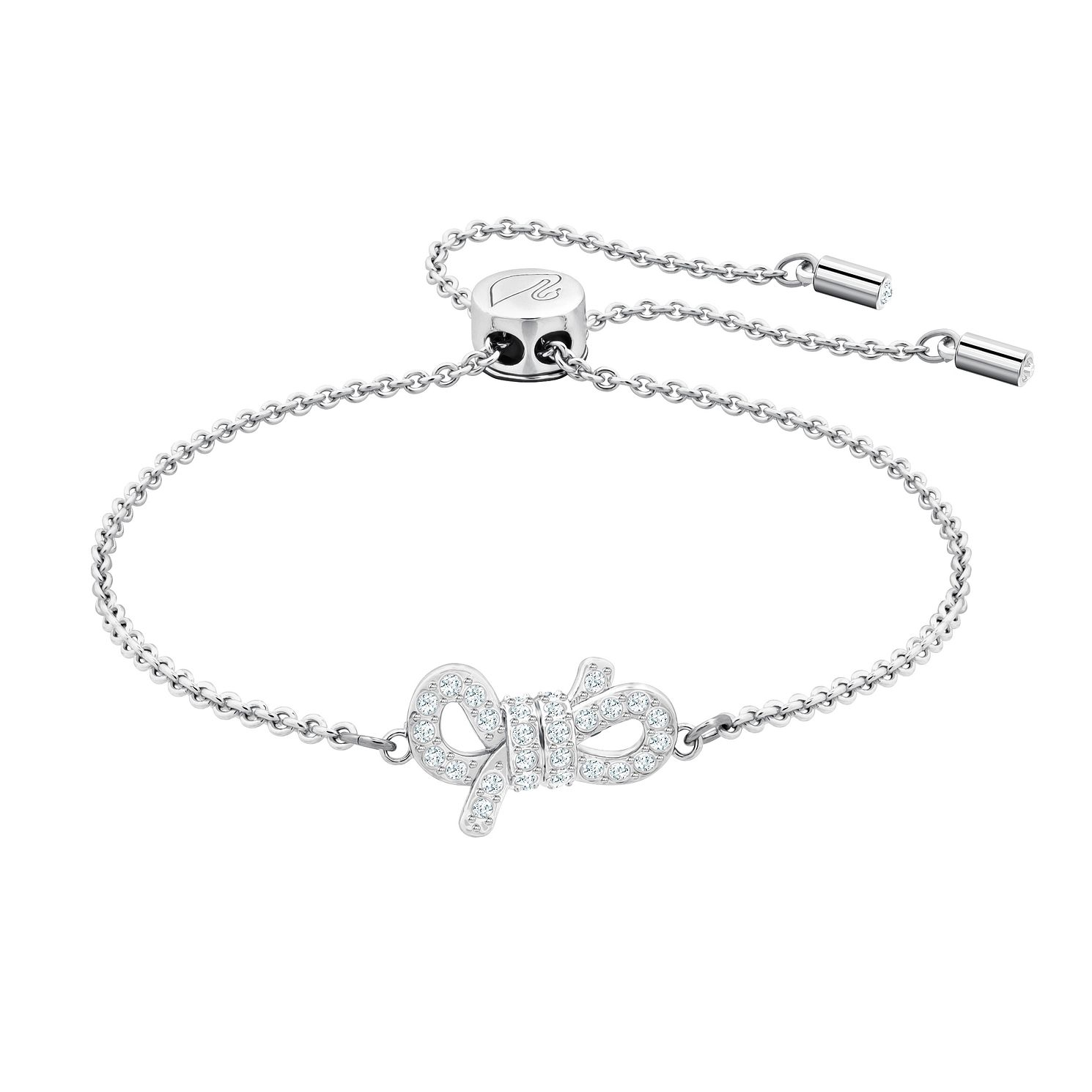 Swarovski Lifelong Bow Rhodium Plated Bracelet - Product number 2949857