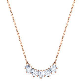 Swarovski Ladies' Rose Gold Plated Sunshine Necklace - Product number 2949911