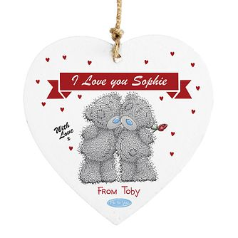 Personalised Me To You Couple Heart Ornament - Product number 2950022