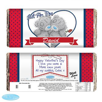 Personalised Me to You Couple Chocolate Bar - Product number 2950138