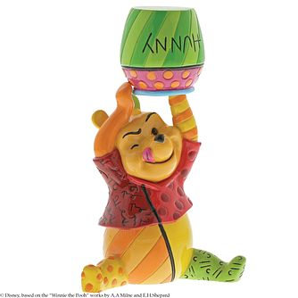 Disney Britto Winnie The Pooh Honey Pot Figurine - Product number 2950650