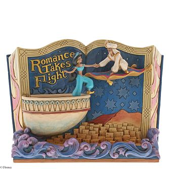 Disney Traditions Aladdin & Jasmine Book Figurine - Product number 2950731