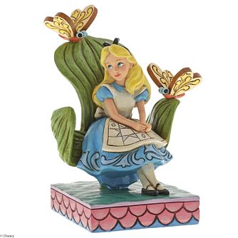 Disney Traditions Be Curious Alice In Wonderland Figurine - Product number 2950766