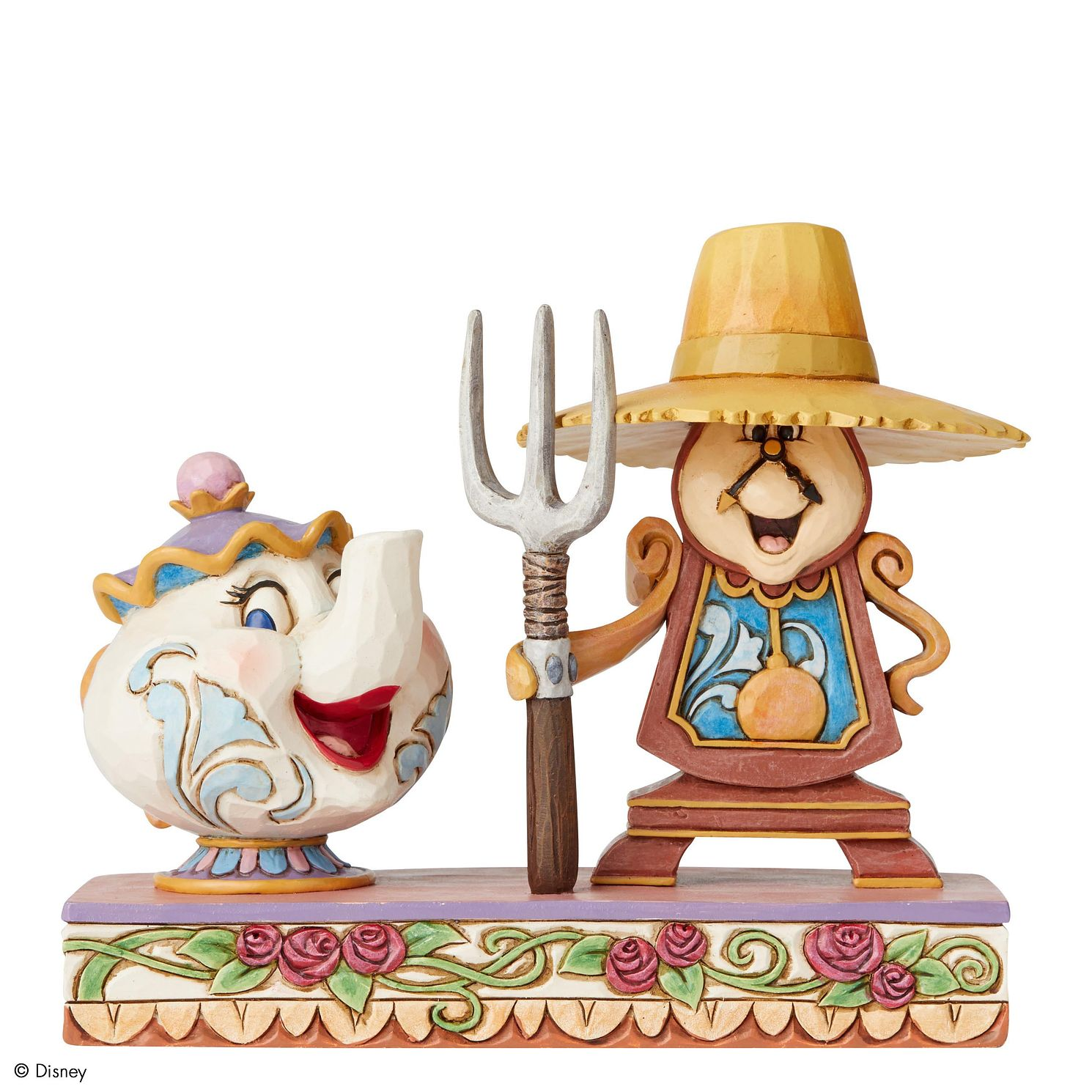 Disney Traditions Cogsworth & Mrs Potts Figurine - Product number 2950898